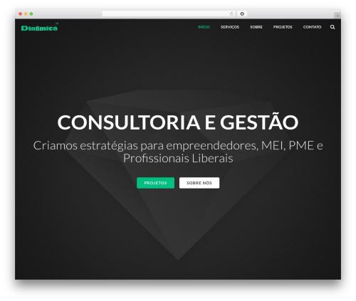 WordPress theme Impreza - dinamicamkt.com.br