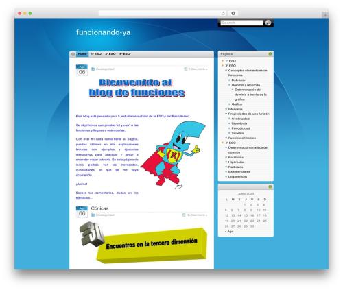 WordPress website template iTheme - desenderismo.com/blogmaria
