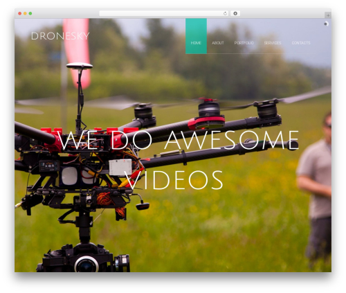 Accio best WordPress theme - dronesky.it