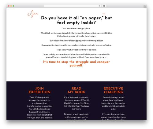 Betheme WordPress website template - drjenfaber.com