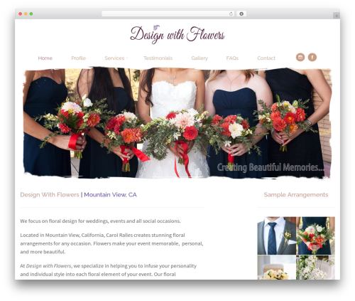 WordPress WPBakery Page Builder plugin - designwithflowers.com