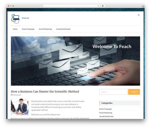 Speedy WordPress theme download - feach.net