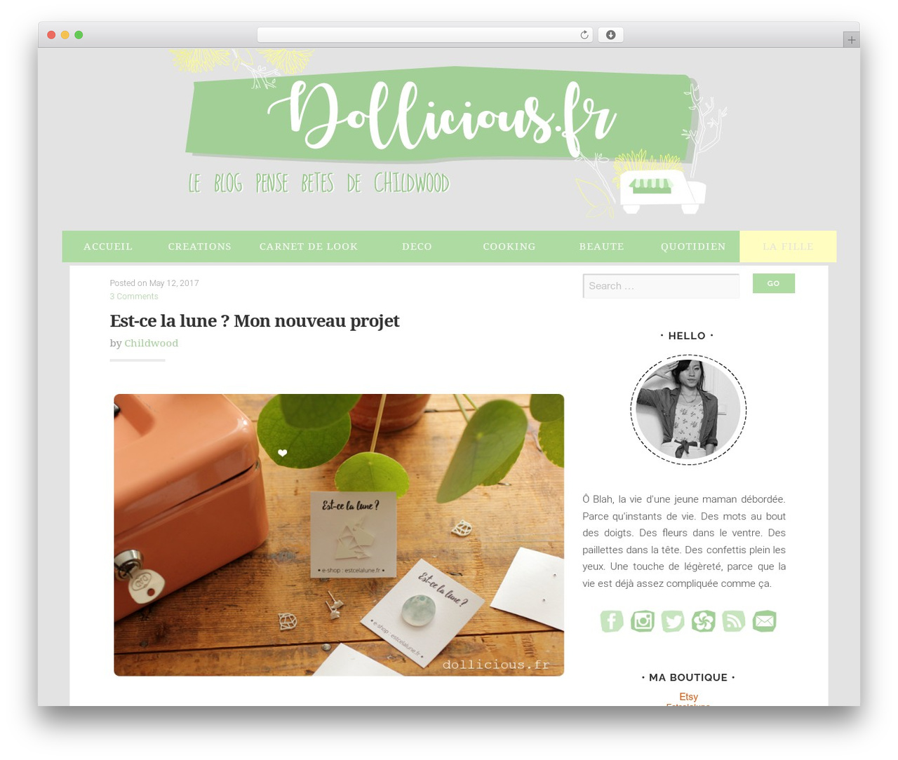 Swell Lite theme free download - dollicious.fr
