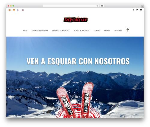 Vigor WP theme - deportur.com