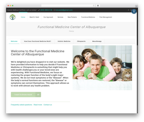 Betheme WordPress theme - docredd.com