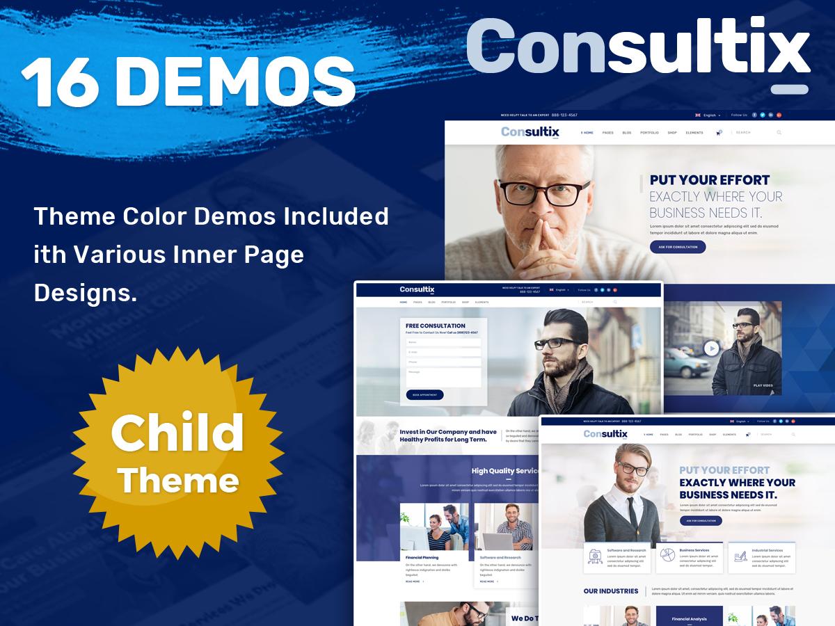 Consultix Child WordPress theme