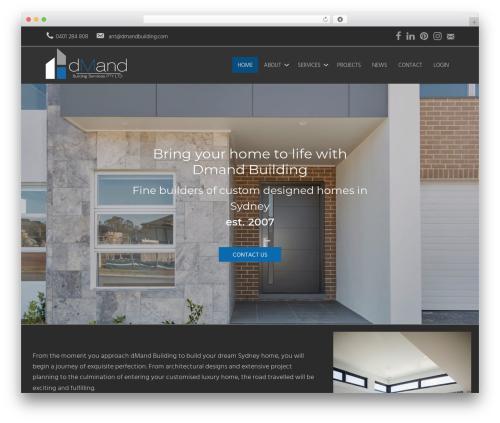 Dmand-mobile-first WordPress travel theme - dmandbuilding.com