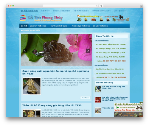 EducationBlog WordPress blog template - dothophongthuy.com
