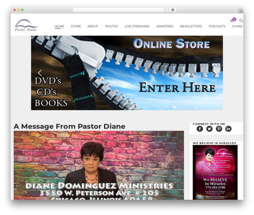 Moon Shop WordPress ecommerce theme - dianedominguezministries.org