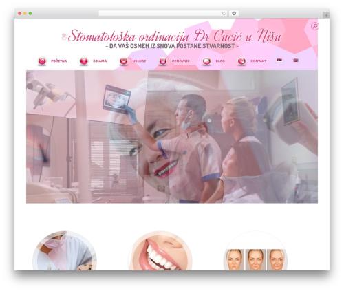 Punto WordPress theme design - drcucic.com