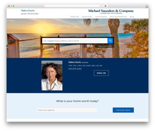 Residential - Theme 1 company WordPress theme - debragurin.michaelsaunders.com