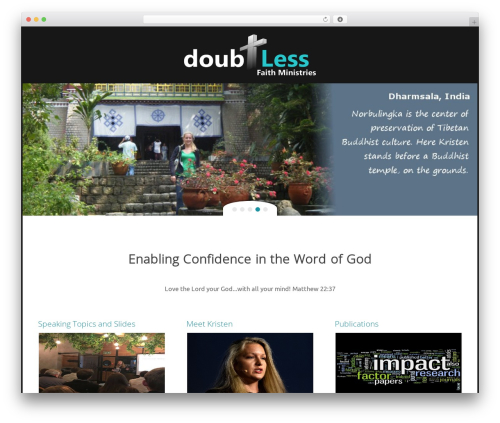 Free WordPress YouTube plugin - doubtlessfaith.com