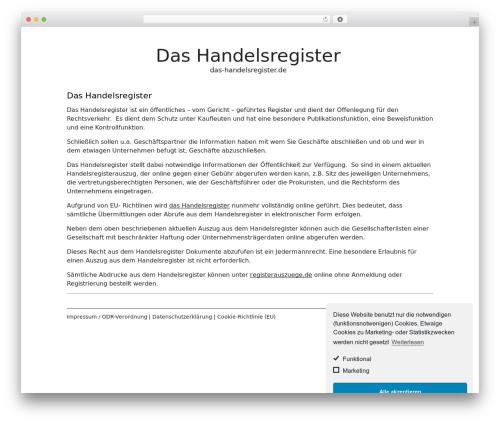White Paper theme free download - das-handelsregister.de