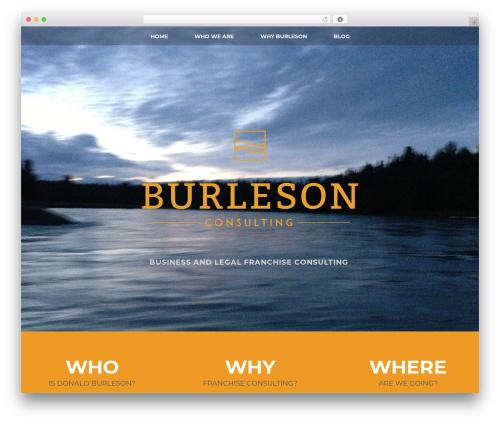 WordPress theme Andy - donaldburleson.com