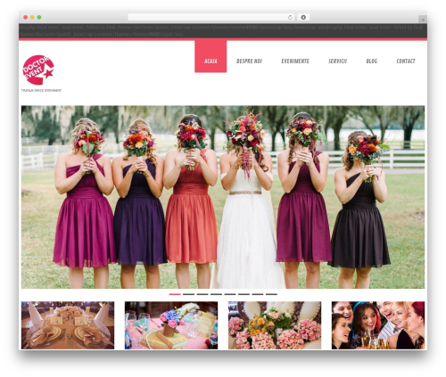 WordPress theme cherry - doctorevent.ro