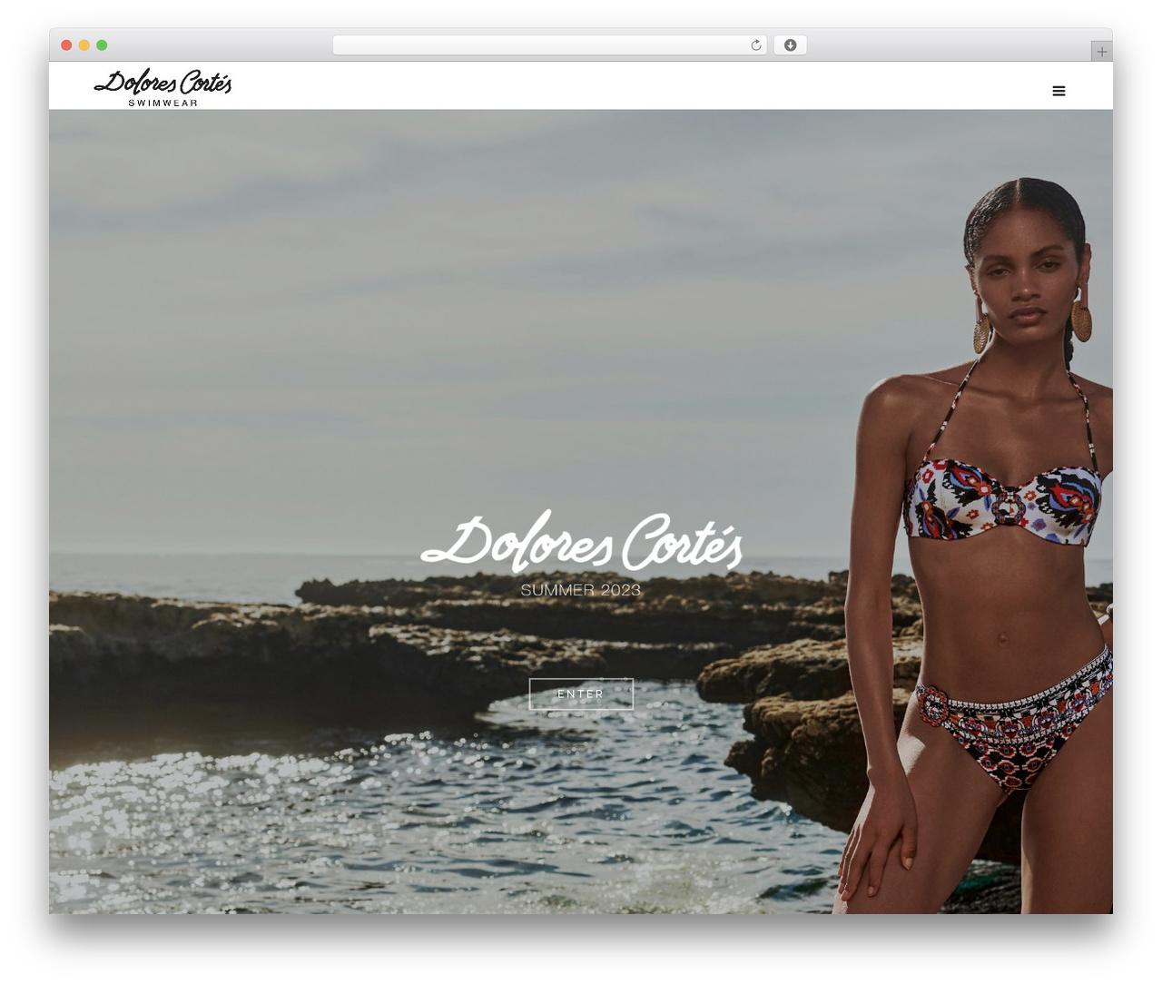Bronx (shared on themelot.net) fashion WordPress theme - dolores-cortes.com