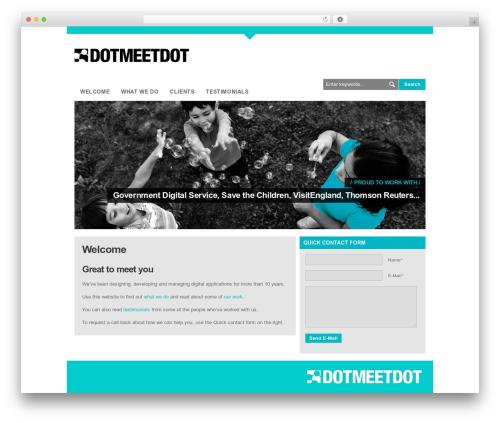 LondonCreative+ v4.3 WordPress theme - dotmeetdot.co.uk
