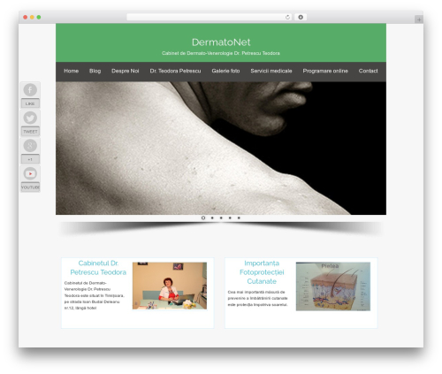 Osiris theme WordPress - dermatonet.ro