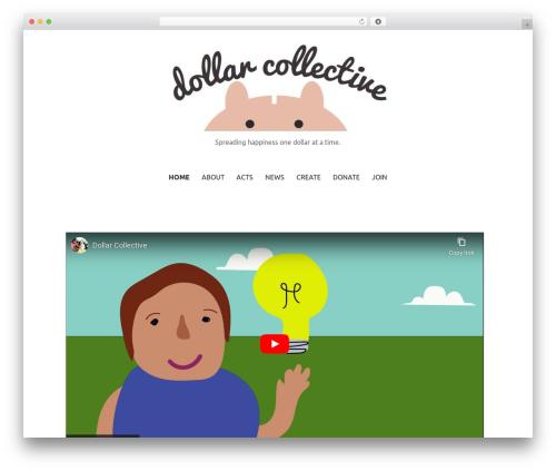 Primer WordPress template free - dollarcollective.com