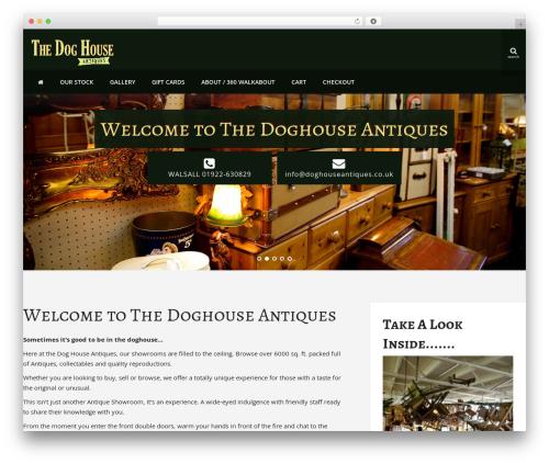 Theme WordPress DJM - doghouseantiques.co.uk