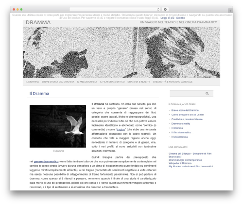 Theme WordPress picolight - dramma.org