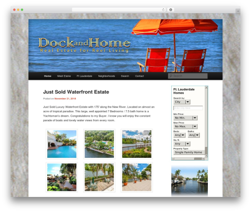 Twenty Eleven WordPress theme - dockandhome.com