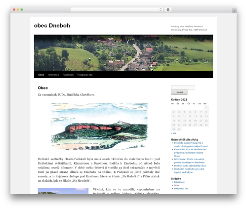 Twenty Ten WordPress theme free download - dneboh.cz