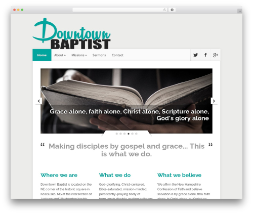 WordPress template downtownko-nexus - downtownko.com