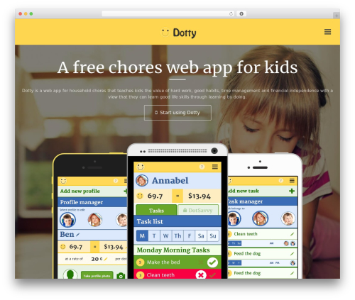 Applay top WordPress theme - dottyhq.com
