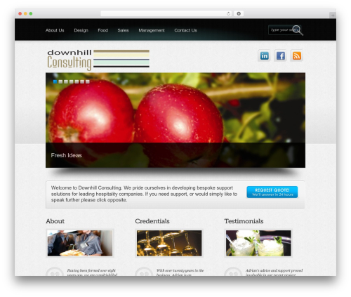 Free WordPress WF Cookie Consent plugin - downhillconsulting.co.uk