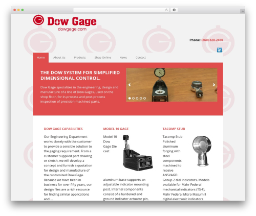 Executive Pro Theme theme WordPress - dowgage.com
