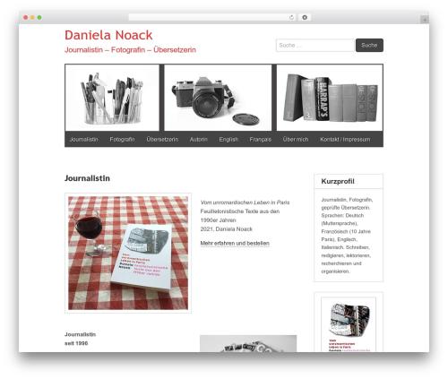 Gridiculous free WP theme - danielanoack.com