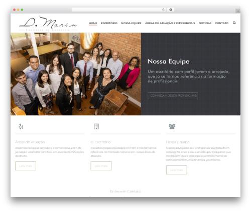 Jupiter theme WordPress - dmarin.adv.br