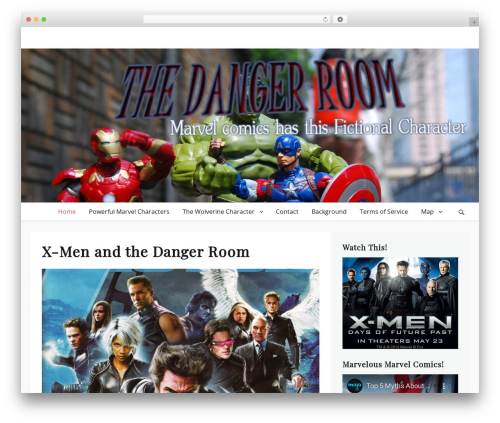 Lucida free WordPress theme - danger-room.net