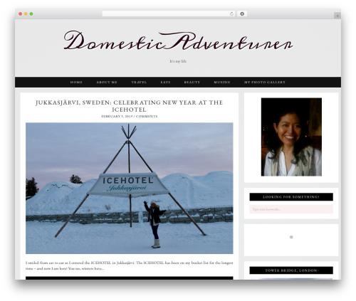 Template WordPress Evelyn Rose (pipdig) - domesticadventurer.com