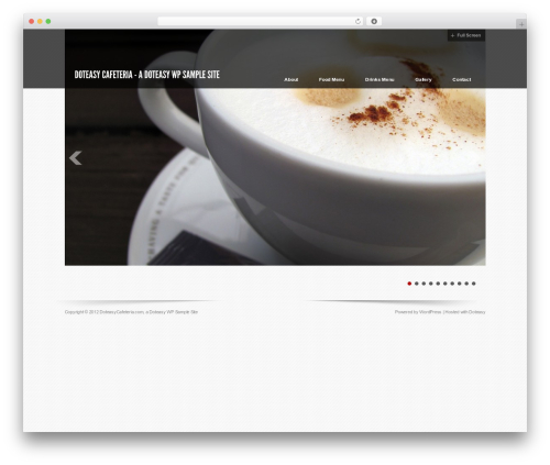 Free WordPress WP Simple Galleries plugin - doteasycafeteria.com