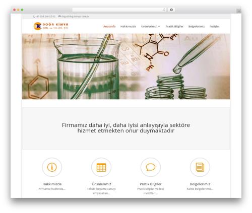 WordPress template Divi - dogakimya.com.tr