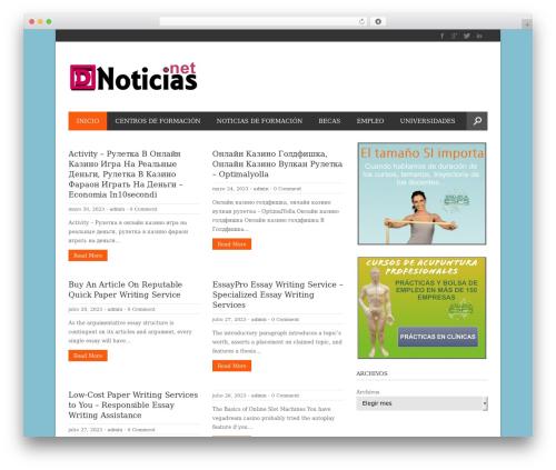 Free WordPress WP Responsive Recent Post Slider plugin - dnoticias.net