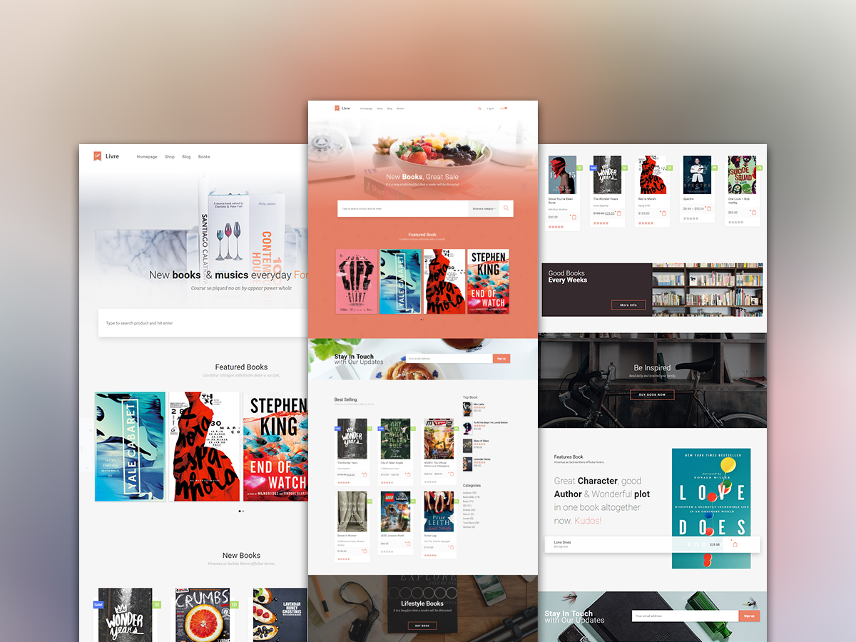 WordPress theme Livre Child THeme