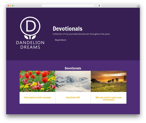 Free WordPress Book Review plugin - dandeliondreams.net