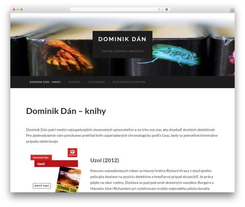 Hemingway template WordPress free - dominikdan.com