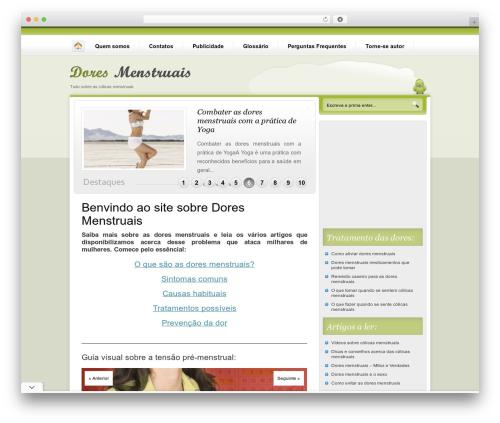 Nublu best WordPress theme - doresmenstruais.com