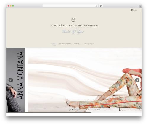 The7 fashion WordPress theme - dorothekollee.com