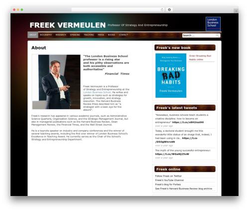 Antisnews WordPress news theme - freekvermeulen.com