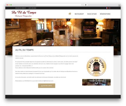 Best WordPress template Hotec - fildutemps.com