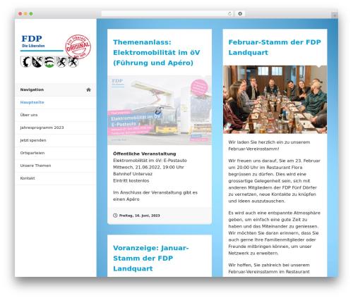 Blogrid WordPress blog theme - fdp-5.ch