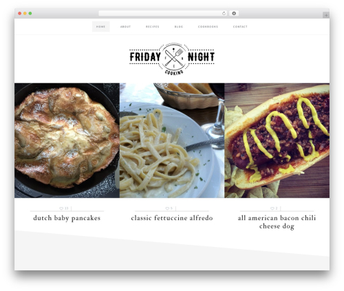 Cookd Pro Theme WordPress video theme - fridaynightcooking.com