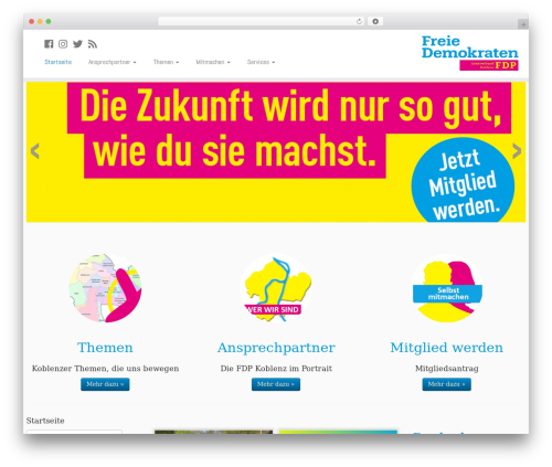 Free WordPress Shariff for WordPress plugin - fdp-koblenz.de