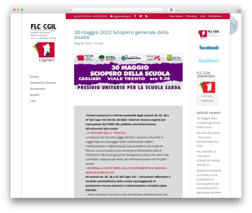 Free WordPress Stop User Enumeration plugin - flcgilcagliari.it