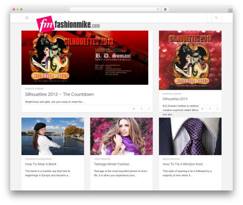 Enpine fashion WordPress theme - fashionmike.com